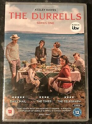 The Durrells Complete Series 1 Dvd (Keeley Hawes) Brand New & Sealed Mint