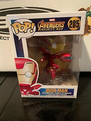 Funko Pop! Marvel Avengers Infinity War Iron Man Figurine - 285