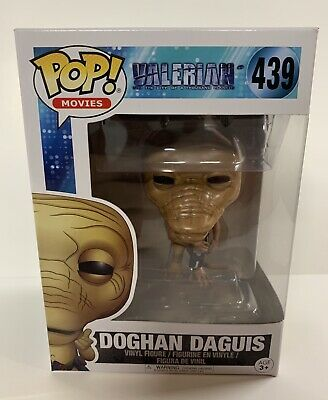 New Funko Pop! Movies Valerian DOGHAN DAGUIS #439 Vinyl Figure FREE SHIPPING New