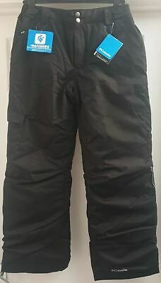 COLUMBIA Boys Youth Black OMNI HEAT Winter Ski Sports Snow Trousers Pants BNWT