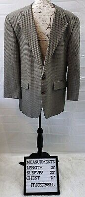 Ralph Lauren Polo University Club Mens Blazer Sport Coat 42R Silk/Wool Blend EUC