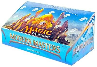 2013 Modern Masters ENGLISH Magic: The Gathering Booster Box MTG Factory Sealed