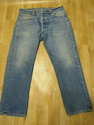 Vintage Levis 501 Jeans 30 x 26 USA faded