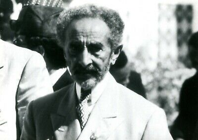 Haile Selassie Photo De Presse