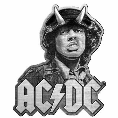 AC/DC Angus Metal Pin Button Badge Official Rock Band Merch