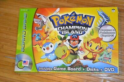 Pokemon Champion Island DVD Board Game BRAND NEW FACTORY SEALED Snap Tv Games