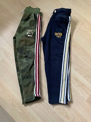 Gap Boys Pair Of Jogging Bottoms Track Pants Size Small Age 6 Years