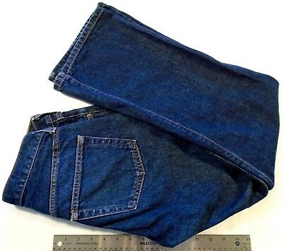"Abercrombie & Fitch Women's Jeans Size 4 ""Boys Bootleg"" Dark Blue FREE SHIPPING!"