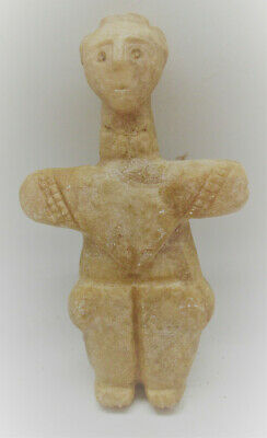 Unresearched Ancient Near Eastern Stone Carved Idol Circa 2000Bce