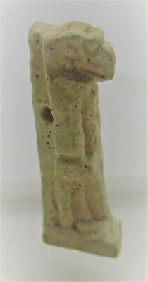 Circa 1000Bce Ancient Egyptian Faience Tawaret Amulet Authentic