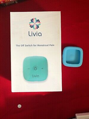 Livia Off Switch Menstrual Pain Natural Drug Free Device w/Gel Pads NEW Sealed