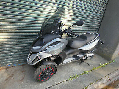 2015 Gilera Fuoco 500Lt Oxford heated grips with throttle twistgrip.20416 Klms.