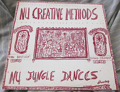 Nu Creative Methods Nu Jungle Dances Pierre Bastien 1978 Original LP Avant-Garde