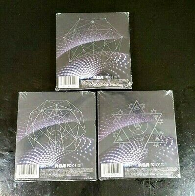 TOOL Fear Inoculum DELUXE CD **FULL SET** ALL 3 VARIANTS! In Hand! Sold Out!