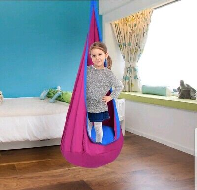 Tremendous Sorbus Kids Child Pod Swing Chair Hanging Seat Hammock For Camellatalisay Diy Chair Ideas Camellatalisaycom