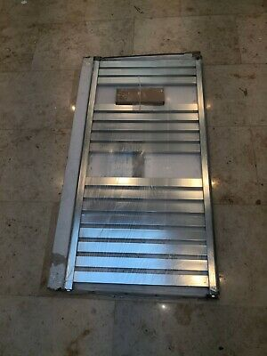 Eastbrook Staverton 1200x600 chrome radiator towel rail