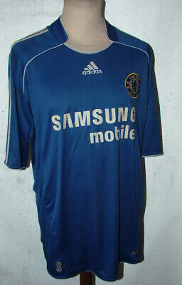 Official Chelsea Lampard 8  Football Shirt name//number 1997//07 Sporting ID