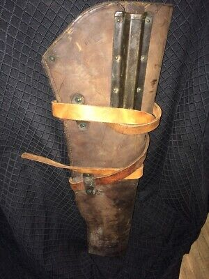 Original WW2 M1 Garand Rifle Scabbard with Straps JQMD 1943 Trench Modified