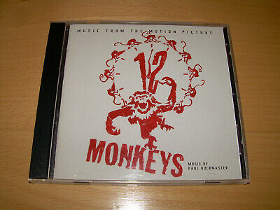 CD - 12 MONKEYS - Music from the motion picture  ///  Banda sonora original