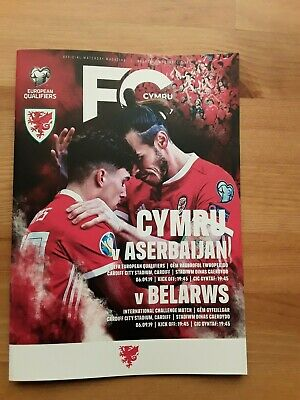 WALES v BELARUS September 2019 (JOINT WITH AZERBAIJAN Euro 2020)