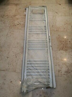 Eastbrook Wendover straight multirail 1600x400 chrome towel rail electric