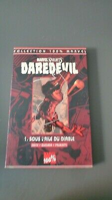 Daredevil T1  Sous L Aile Du Diable  Collection 100 % Marvel Tb Etat Quesada