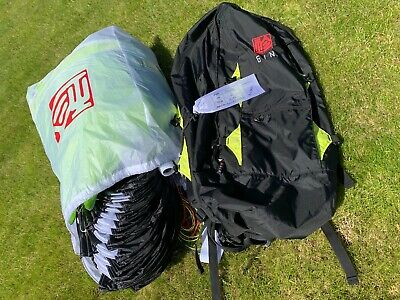 Gin Falcon Paramotor Paraglider Wing 22 Gecko Immaculate Condition