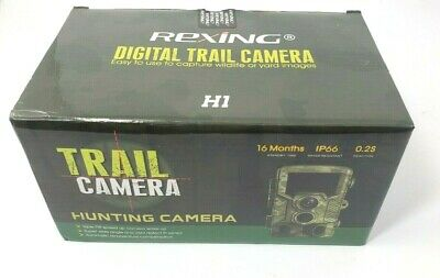 REXING Woodlens H1 HD 16MP Trail Camera Day & Night Ultra Fast Detection