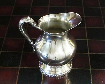 Antique Silver Plated Sheets-Rockford Creamer, Silverplate