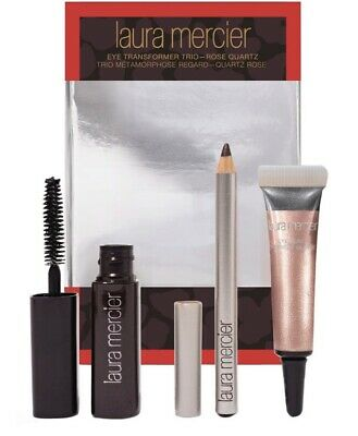 Laura Mercier Eye Trio - Mascara, Shadow, Liner Set Bnib