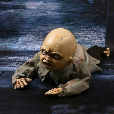 Halloween Crawling Ghosts Zombie Baby Prop Horror House Party Haunted O0C0