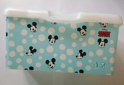 HUGGIES MICKEY MOUSE wet wipes tub EMPTY