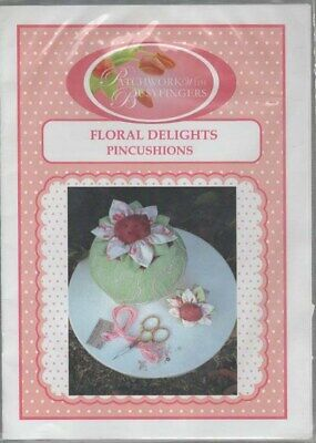 Floral Delights Pin Cushion Pattern
