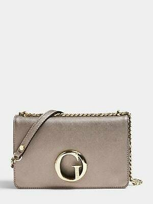 Guess Black 'Marian' Mini Patent Crossbody Bag