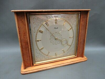 Vintage wooden Kienzle 8 day mantle clock - for restoration