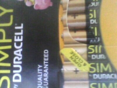 Duracell Aaa Size 8 Pack Simply Alkalne Batteries =Free Post