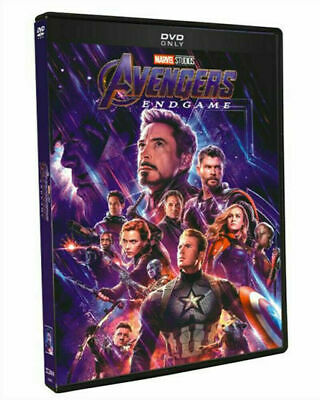 "AVENGERS: END GAME (DVD, 2019) NEW! ""A Once In A Lifetime Cinematic Event!"""
