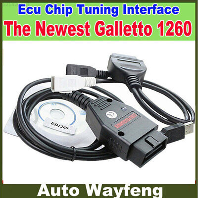 22B8 Galletto 1260 TUNING TOOL USB ECU TUNING TOOL CABLE REMAP FLASHER Coding