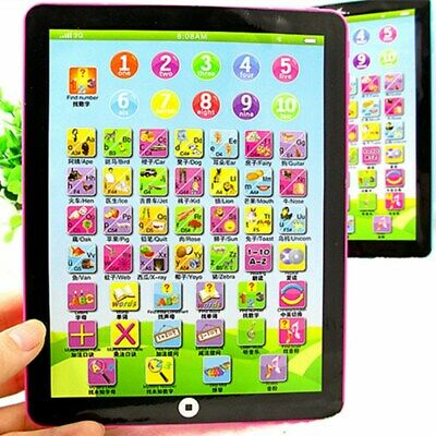 Mini Baby Kids Laptop Tablet Pad Computer Child Educational Toy Learning New