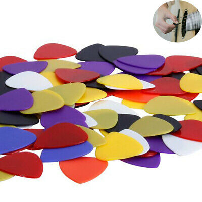 Quality Colorful Professional Celluloid Guitar Picks Bass Plectrum Musical Tool
