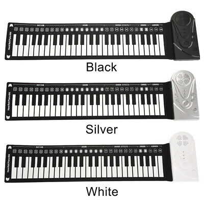 49 Key Music Electronic Keyboard Electric Piano Portable Silicone Flexible Roll