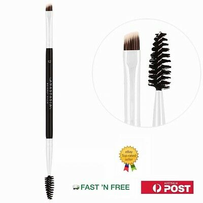 Anastasia Beverly Hills Duo Brow Brush & Spoolie #12 Brand New