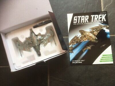 Star Trek Eaglemoss Special Issue Klingon D4 Bird Of Prey (NuTrek) With Magazine