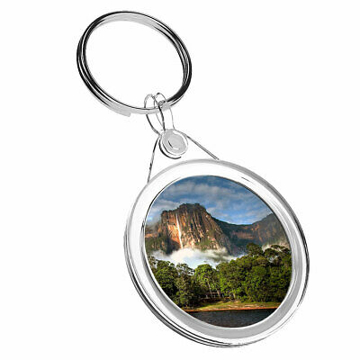 1 x Salto Angel Falls Venezuela - Keyring IR02 Mum Dad Kid Birthday Gift #3635