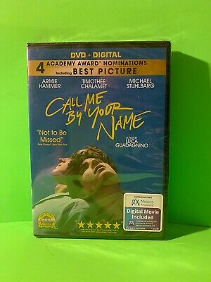 Call Me By Your Name [New DVD+DIGITAL]