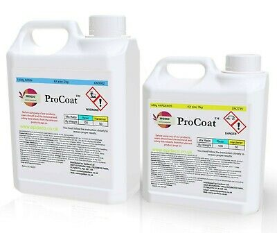 Clear Epoxy Resin 2kg bonding, penny floors, 3d Multipurpose 2:1 Fast curing