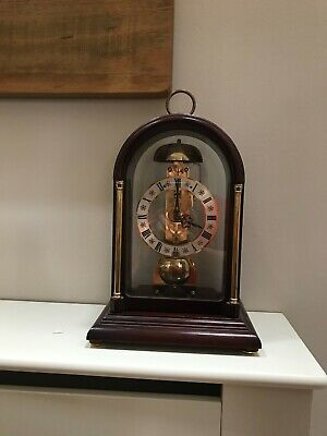 Hermle Skeleton Striking Mantle Clock