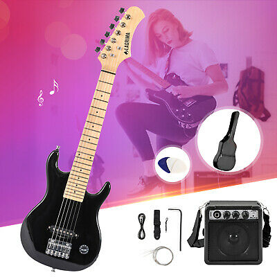 30'' Electric Guitar Starter Kit with 5W Amp, Case and Accessories Pack Beginner