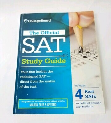 The Official SAT Study Guide College Board March 2016 and Beyond