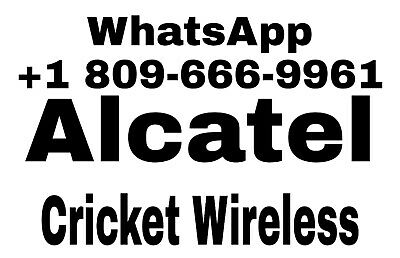 Unlock Alcatel 4044O/4044N/4044W  Remote / Service